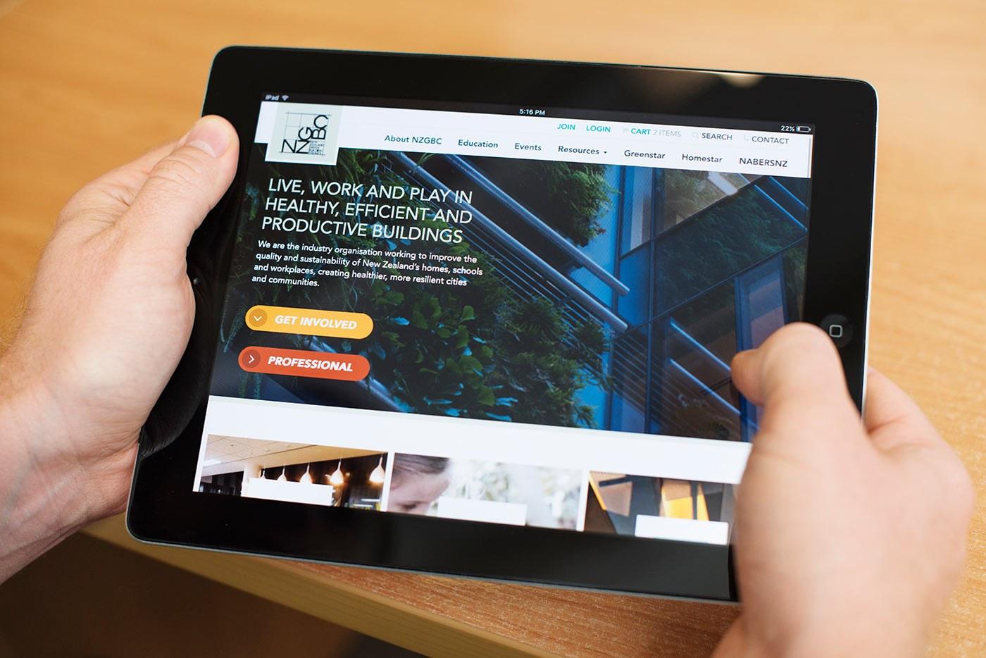 Nzgbc I Pad  Homepage  Rl